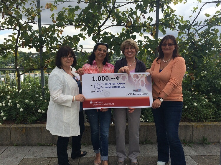 Sommerfest 2016 – Spenden für KIWI e. V. und Hilfe im Kampf gegen Krebs e. V.